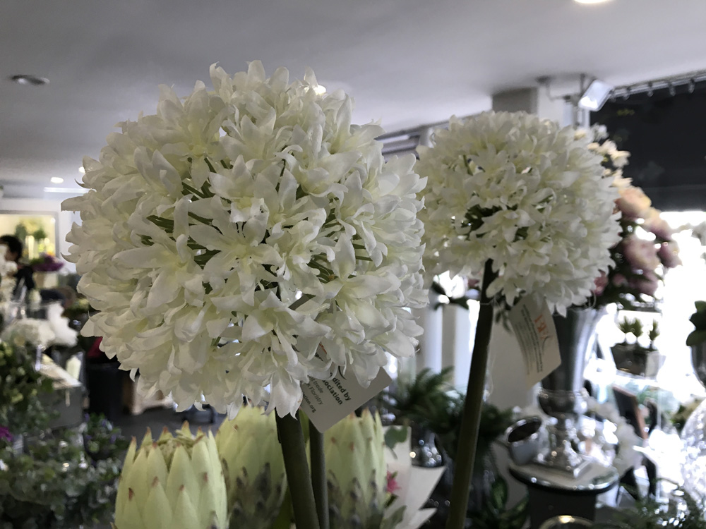 The florist loughton artificial flowers alliums mightylinksfo